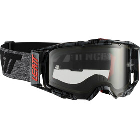 Leatt Velocity 6.5 Anti Fog Goggles, brushed/grey